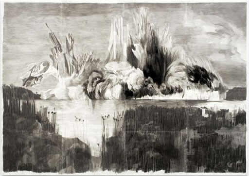 Marc Bauer, large drawing