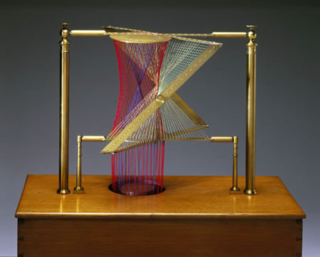 By a thread string in contemporary art - String art modele ...
