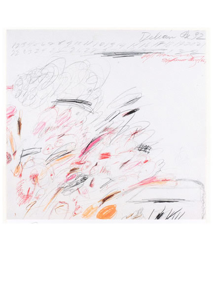 cy twombly: signed limited editions